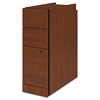"HON Narrow Box/Box/File Pedestal for 10500/10700 Series Shells, 28"" High, Henna Chry"