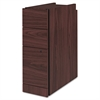 "HON Narrow Box/Box/File Pedestal for 10500/10700 Series Shells, 28"" High, Mahogany"