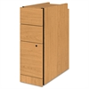 "Narrow Box/Box/File Pedestal for 10500/10700 Series Shells, 28"" High, Harvest"