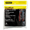 "Stanley Dual Temperature Glue Sticks, 4"" Long, Clear, 24/Pack"