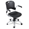 BALT Circulation Series Task Chair, Black, 25 x 23-3/4 x 37-3/4