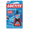 Loctite Liquid Super Glue, Clear, 0.14oz, 1/ea