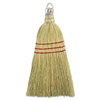 "Boardwalk Whisk Broom, Corn Fiber Bristles, 10"" Wood Handle, Yellow, 12/Carton"