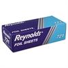 Interfolded Aluminum Foil Sheets, 12 x 10 3/4, Silver, 500/Box, 6 Boxes/Carton