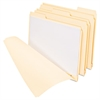 "Pendaflex Three Fastener File Folder, 3/4"" Exp, 1/3 Cut Tab, Letter, Manila, 50/BX"