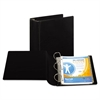 "Samsill Top Performance DXL Angle-D View Binder, 4"" Capacity, Black"