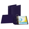 "Top Performance DXL Angle-D View Binder, 5"" Capacity, Dark Blue"