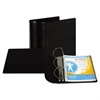 "Top Performance DXL Angle-D View Binder, 5"" Capacity, Black"