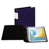 "Samsill DXL Heavy-Duty Locking D-Ring Binder With Label Holder, 2"" Cap, Dark Blue"