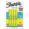 Sharpie Gel Highlighter, Bullet Tip,Yellow, 4/Pack