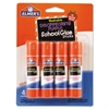 Washable School Glue Sticks, Disappearing Purple, 4/Pack