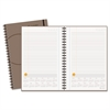 AT-A-GLANCE Plan. Write. Remember. Planning Notebook with Reference Calendar, 6 x 9, Gray