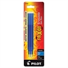 Pilot Refill for FriXion Erasable Gel Ink Pen, Blue, 3/Pk