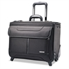 Samsonite Rolling Catalog Case, 17 1/4 x 7 1/2 x 13, Black