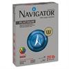 Navigator Platinum Paper, 99 Brightness, 20lb, 8-1/2 x 11, White, 5000/Carton