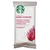 Starbucks Coffee, French Roast, 2.5oz Bag, 18 Bags/Box