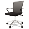 Mayline Valoré Mesh Back Task Chair, Black
