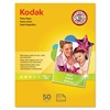 Kodak Photo Paper, 6.5 mil, Glossy, 8-1/2 x 11, 50 Sheets/Pack