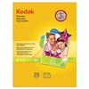 Kodak Photo Paper, 6.5 mil, Glossy, 8-1/2 x 11, 25 Sheets/Pack
