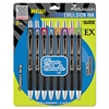 Z-Mulsion EX Ballpoint Pen, 1 mm, Assorted, 8/Set