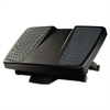 Fellowes Ultimate Foot Support, HPS, 17 3/4w x 13 1/4d x 6 1/2h, Black/Gray