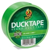 "Duck Colored Duct Tape, 9 mil, 1.88"" x 15 yds, 3"" Core, Neon Green"