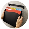 Avery Cubicle Wall File Pocket, 12 1/2 x 1 3/8 x 9 1/2, Black