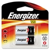 Energizer Lithium Photo Battery, 123, 3V, 2/Pack