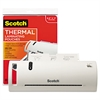 "Scotch Thermal Laminator Value Pack, 9"" W, with 20 Letter Size Pouches"