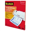 Scotch Letter Size Thermal Laminating Pouches, 3 mil, 11 1/2 x 9, 100 per Pack