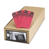 Sold Tags, Paper, 4 3/4 x 2 3/8, Red/Black, 500/Box