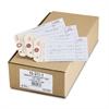 Avery Manifold Inventory Duplicate Tags, 501-1000, 6 1/4 x 3 1/8, Manila/White, 500
