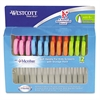 "Westcott Kids Soft Handle Scissors with Antimicrobial Protection, 12/Pack, 5"" Ptd"