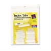 Insertable Index Tabs with Printable Inserts, One, Clear Tab, 25/Pack