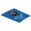 Gel Gliding Palm Support w/Mouse Pad, Blue