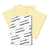 Digital Index Color Card Stock, 90 lb, 8 1/2 x 11, Canary, 250 Sheets/Pack