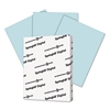 Digital Index Color Card Stock, 90 lb, 8 1/2 x 11, Blue, 250 Sheets/Pack