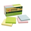 Redi-Tag 100% Recycled Notes, 3 x 3, Four Colors, 12 100-Sheet Pads/Pack
