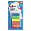 Redi-Tag SeeNotes Transparent-Film Arrow Page Flags, Assorted Colors, 50/Pad, 5 Pads