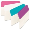 Post-it Angled Tabs, 2 x 1 1/2, Assorted Pastel Colors, 24/Pack
