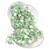 Office Snax Starlight Mints, Spearmint Hard Candy, Individual Wrapped, 2 lb Resealable Tub