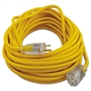 CCI Polar/Solar Outdoor Extension Cord, 50ft, Yellow