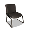 Alera Plus XL Series Big & Tall Mid-Back Guest Chair, Black