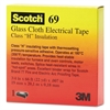 "3M Scotch 69 Glass Cloth Electrical Tape, 3/4"" x 66ft"
