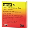 "3M Scotch 27 Glass Cloth Electrical Tape, 3/4"" x 66ft"