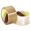 3M Scotch 371 Industrial Box Sealing Tape, Clear, 48mm x 50m