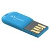 Verbatim Store 'n' Go Micro USB 2.0 Drive, 8GB, Caribbean Blue