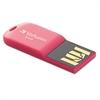 Verbatim Store 'n' Go Micro USB 2.0 Drive, 8GB, Hot Pink