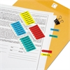 "Redi-Tag Mini Arrow Page Flags, ""Sign Here"", Blue/Mint/Red/Yellow, 126 Flags/Pack"