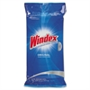 Glass & Surface Wet Wipe, Cloth, 7 x 10, 28/Pack